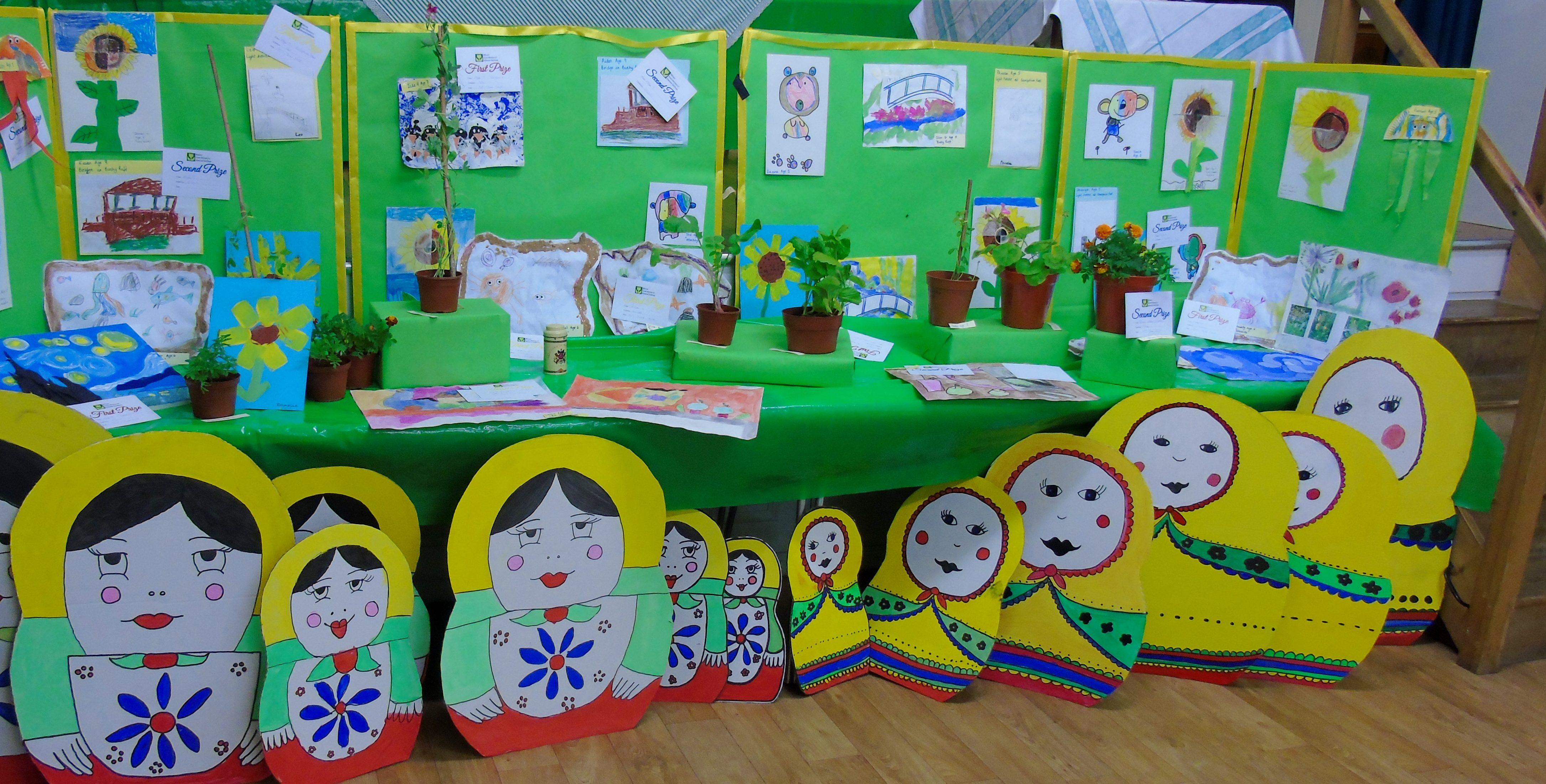 River Primary School exhibits